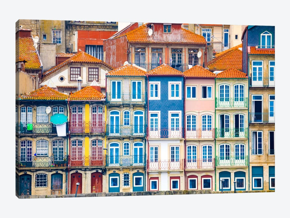 Good Morning Porto, Porto, Portugal by Jim Nilsen 1-piece Canvas Art