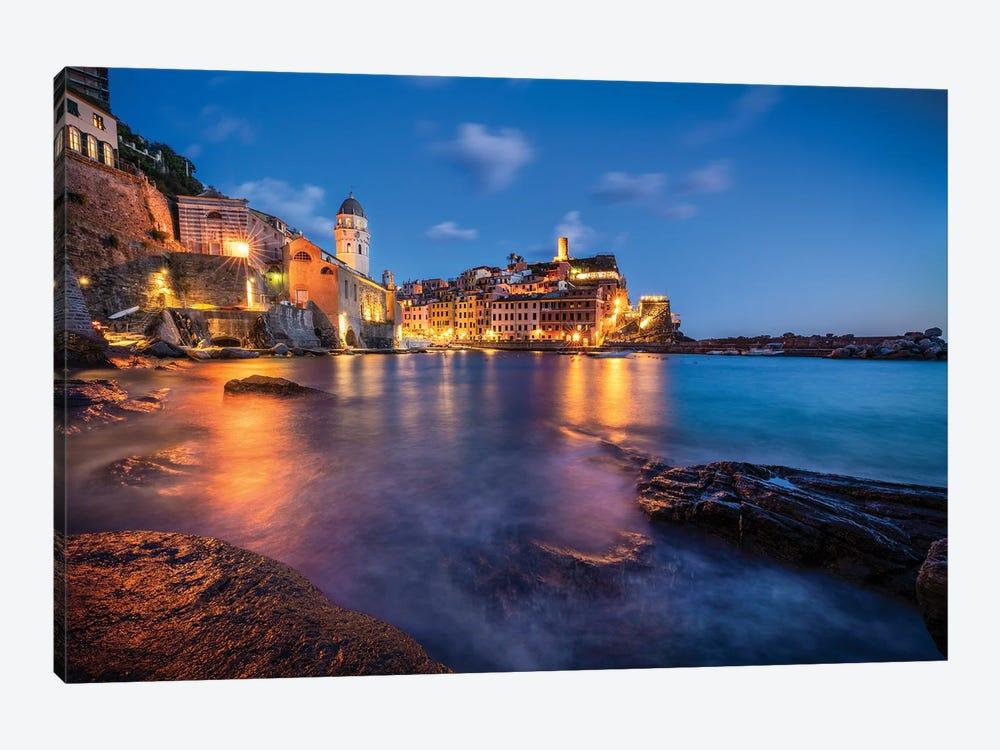 Vernazza Blue, Cinque Terre, Italy by Jim Nilsen 1-piece Art Print