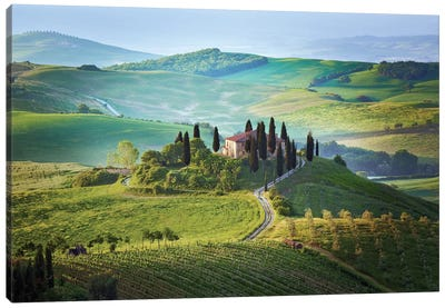 Il Belvedere, Tuscany, Italy Canvas Art Print