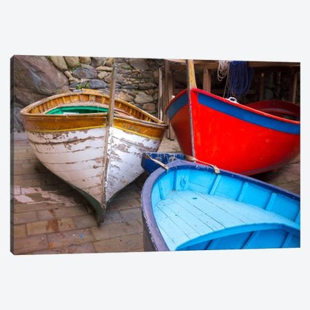 In Storage, Cinque Terre, Italy Canvas Print #NIL25} by Jim Nilsen Canvas Print