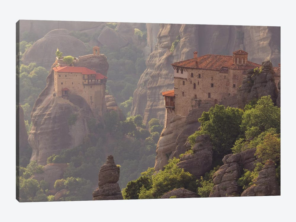 Into The Mystic, Meteora, Greece by Jim Nilsen 1-piece Canvas Art