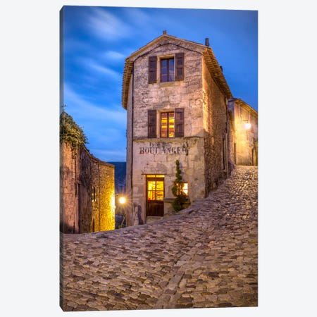 Lacoste Boulangerie, Lacoste, France Canvas Print #NIL28} by Jim Nilsen Canvas Art