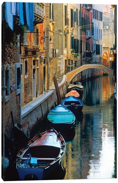 Lazy Afternoon, Venice, Italy Canvas Art Print
