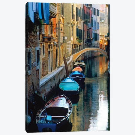 Lazy Afternoon, Venice, Italy Canvas Print #NIL31} by Jim Nilsen Canvas Print