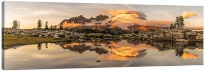 Mt. Baker Sunrise, Washington State Canvas Art Print