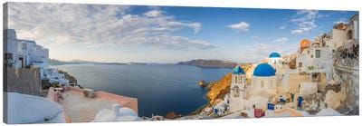 Oia Sunrise, Santorini, Greece I Canvas Art Print