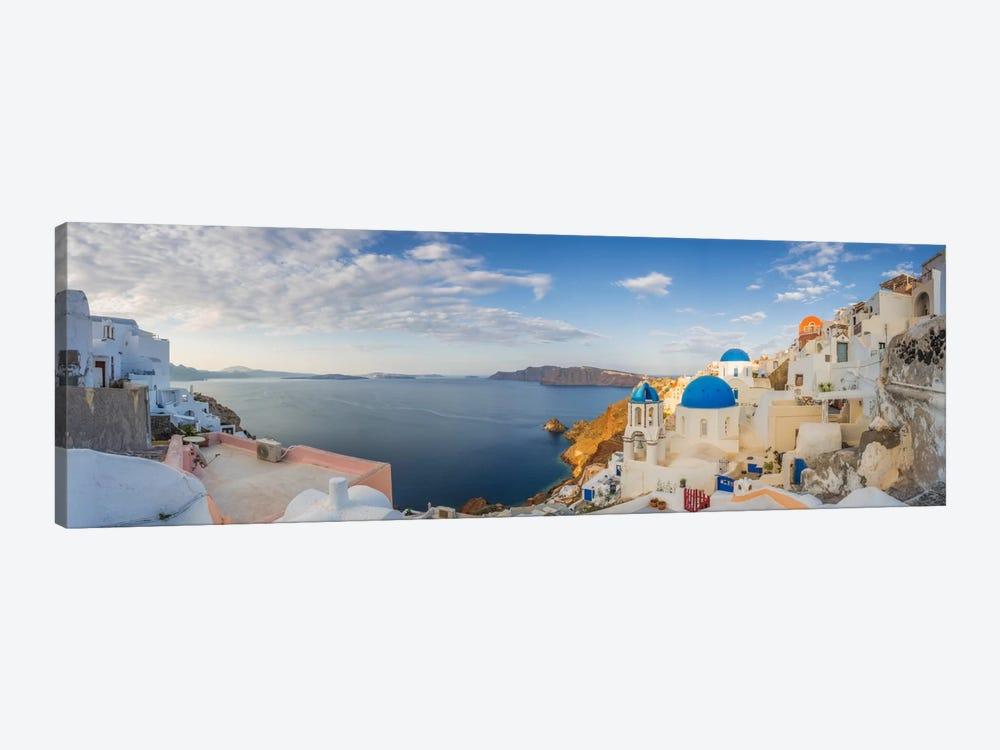 Oia Sunrise, Santorini, Greece I by Jim Nilsen 1-piece Canvas Print