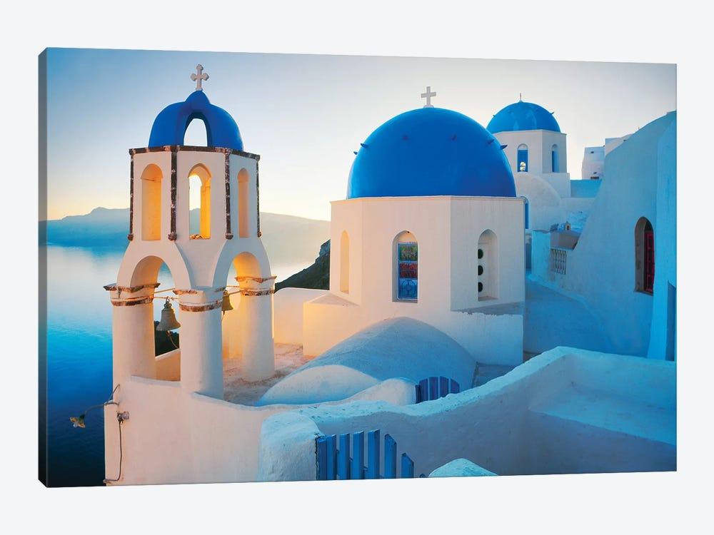 Oia Sunrise, Santorini, Greece II by Jim Nilsen 1-piece Canvas Art