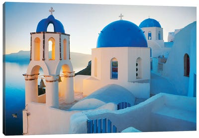 Oia Sunrise, Santorini, Greece II Canvas Art Print