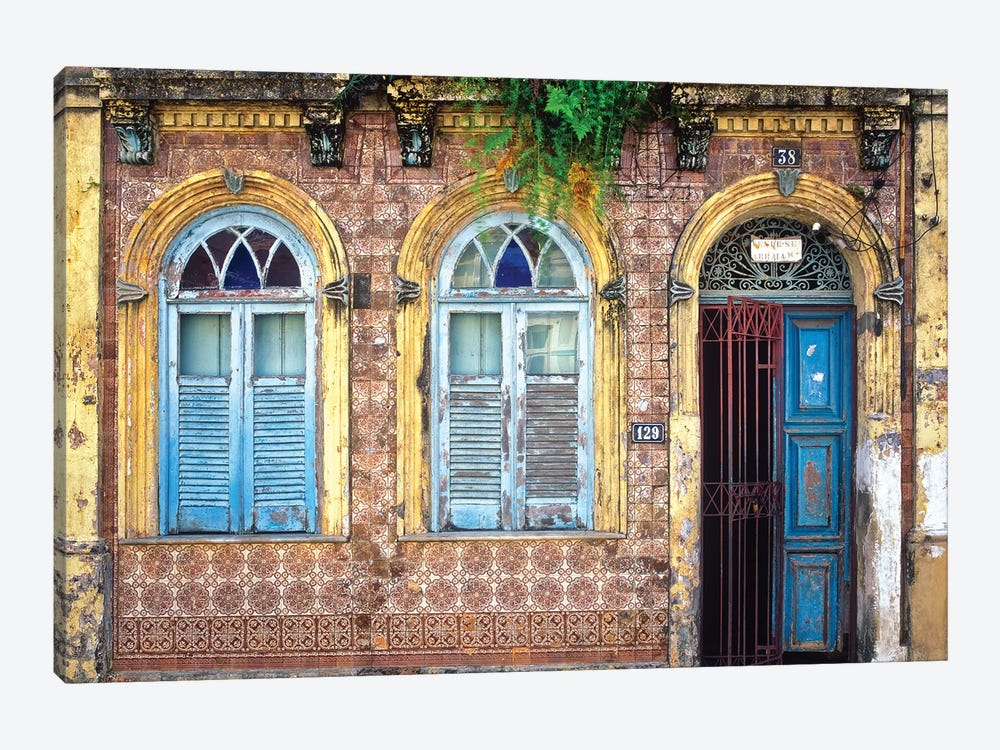 Remnants Of Portugal, Salvador, Brazil by Jim Nilsen 1-piece Canvas Wall Art
