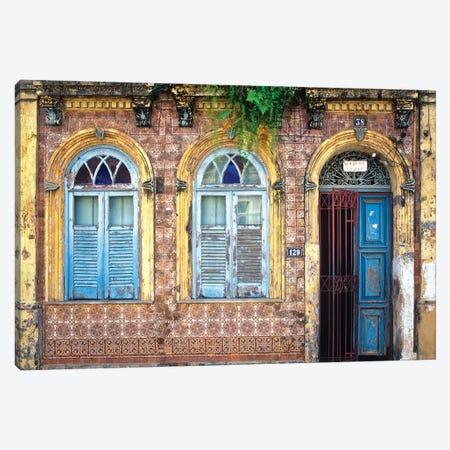 Remnants Of Portugal, Salvador, Brazil Canvas Print #NIL42} by Jim Nilsen Canvas Artwork