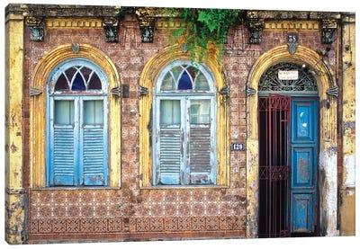 Remnants Of Portugal, Salvador, Brazil Canvas Art Print
