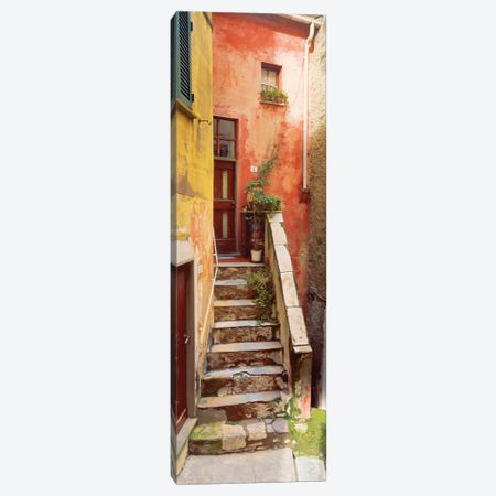 Rustic Tellaro, Tellaro, Italy II Canvas Print #NIL45} by Jim Nilsen Art Print