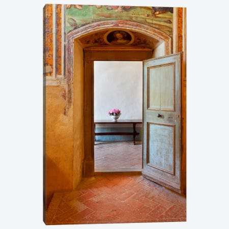 Sant'Anna In Camprena, Tuscany, Italy Canvas Print #NIL47} by Jim Nilsen Canvas Print