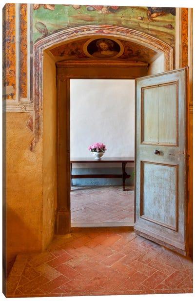 Sant'Anna In Camprena, Tuscany, Italy Canvas Art Print