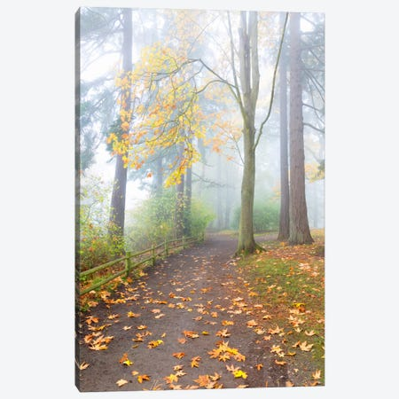 Along The Bluff, Seattle, Washington Canvas Print #NIL4} by Jim Nilsen Canvas Artwork