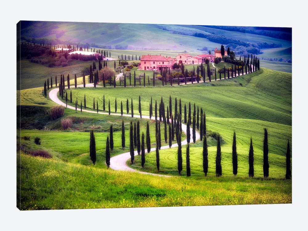 Somewhere In Tuscany, Tuscany, Italy by Jim Nilsen 1-piece Art Print