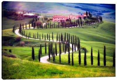 Somewhere In Tuscany, Tuscany, Italy Canvas Art Print