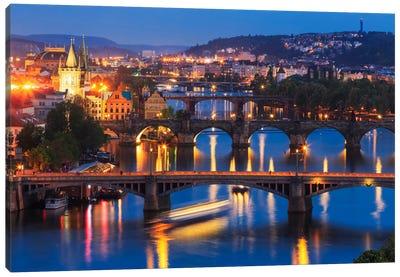The Bridges Of Prague Canvas Art Print