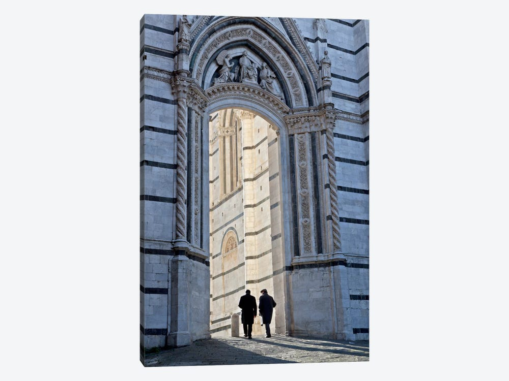 Time For Pranzo, Siena, Italy by Jim Nilsen 1-piece Canvas Art