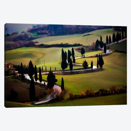 Tuscan Serpent, Tuscany, Italy Canvas Print #NIL71} by Jim Nilsen Art Print