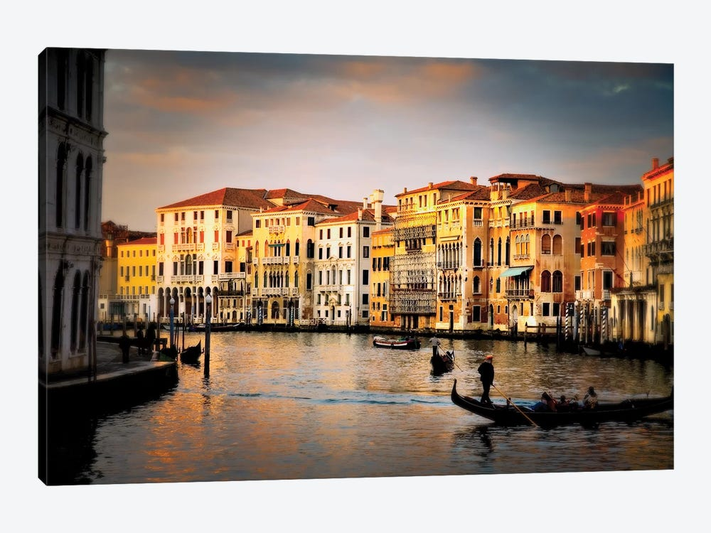 Venetian Glow, Venice, Italy by Jim Nilsen 1-piece Canvas Artwork