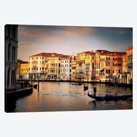 Venetian Glow, Venice, Italy Canvas Print #NIL73} by Jim Nilsen Canvas Print