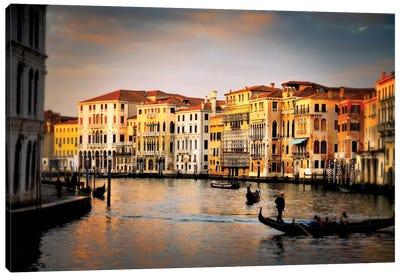 Venetian Glow, Venice, Italy Canvas Art Print