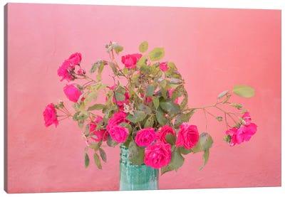 Vernazza Bouquet, Vernazza, Italy Canvas Art Print