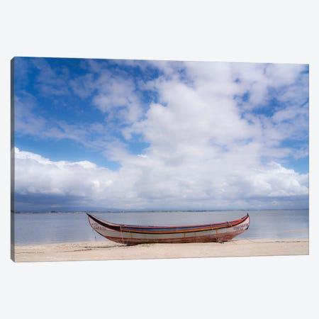 Along The Lagoon, Portugal Canvas Print #NIL84} by Jim Nilsen Canvas Print