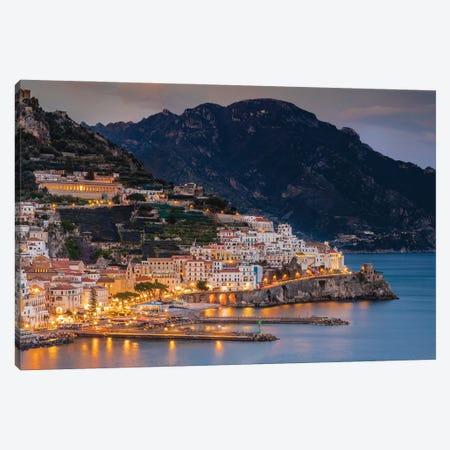 Amalfi Blue, Amalfi, Italy Canvas Print #NIL86} by Jim Nilsen Art Print