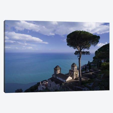 Amalfi View, Ravello, Italy Canvas Print #NIL88} by Jim Nilsen Canvas Artwork