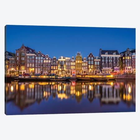 Amsterdam Blue, Amsterdam, The Netherlands Canvas Print #NIL89} by Jim Nilsen Canvas Artwork