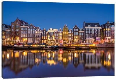 Amsterdam Blue, Amsterdam, The Netherlands Canvas Art Print