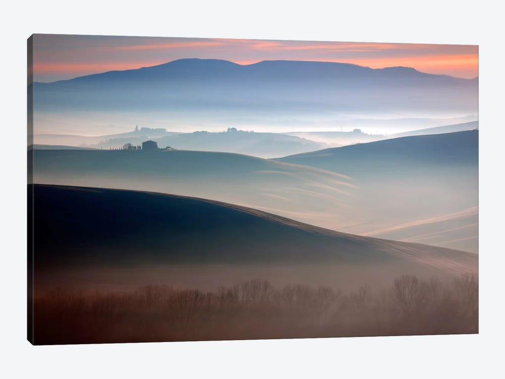 Bella Val D' Orcia, Tuscany, Italy by Jim Nilsen 1-piece Canvas Artwork