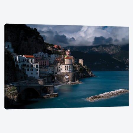 Atrani Afternoon, Atrani, Italy Canvas Print #NIL92} by Jim Nilsen Canvas Art Print