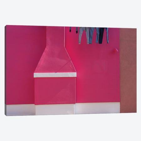 Burano Color, Burano, Italy Canvas Print #NIL99} by Jim Nilsen Canvas Art Print