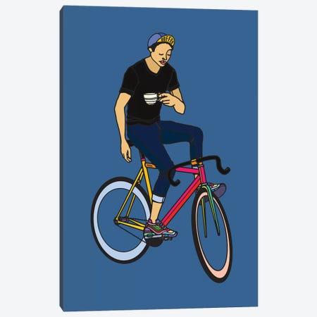 Coffee Break Canvas Print #NIN100} by Ninhol Canvas Wall Art