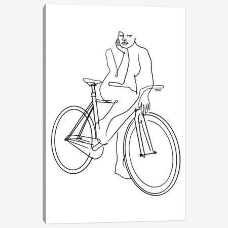 Fixie Lines Canvas Print #NIN105} by Ninhol Canvas Art Print