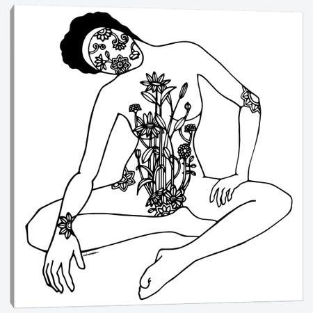 Bloom Canvas Print #NIN10} by Ninhol Canvas Art Print