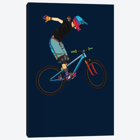 Freeride Canvas Print #NIN110} by Ninhol Canvas Print