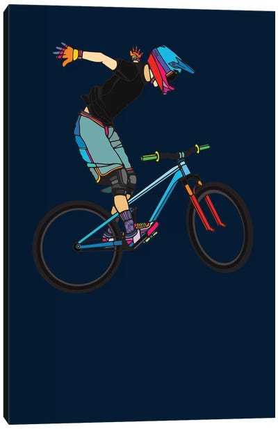Freeride Canvas Art Print