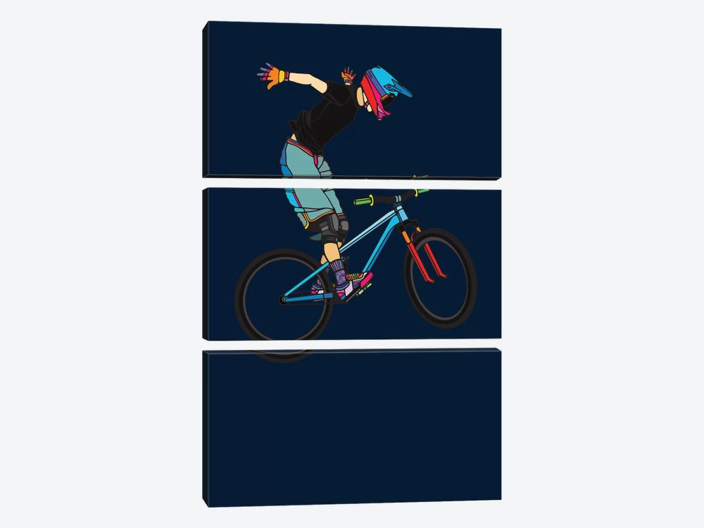 Freeride by Ninhol 3-piece Art Print