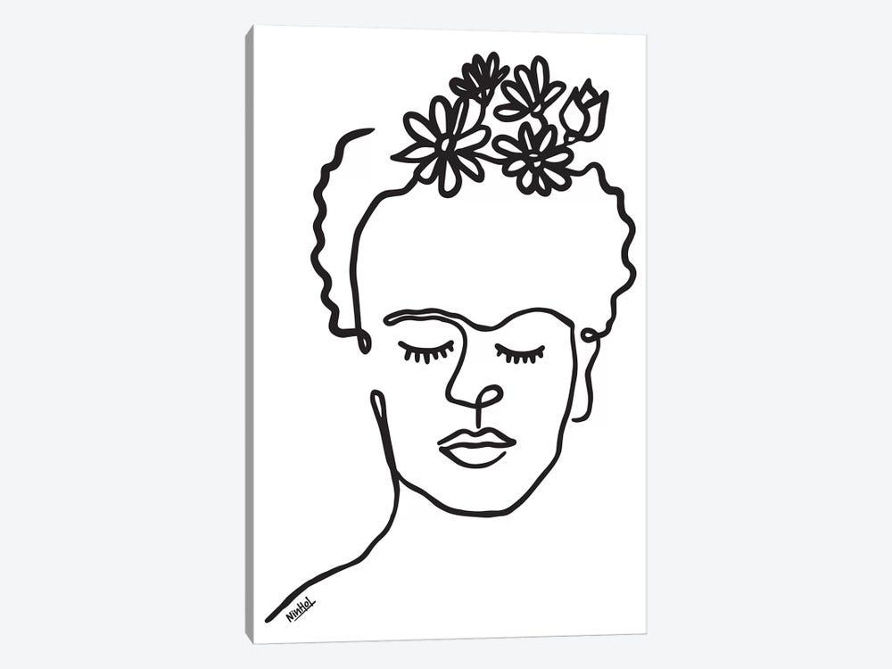 Frida by Ninhol 1-piece Canvas Art