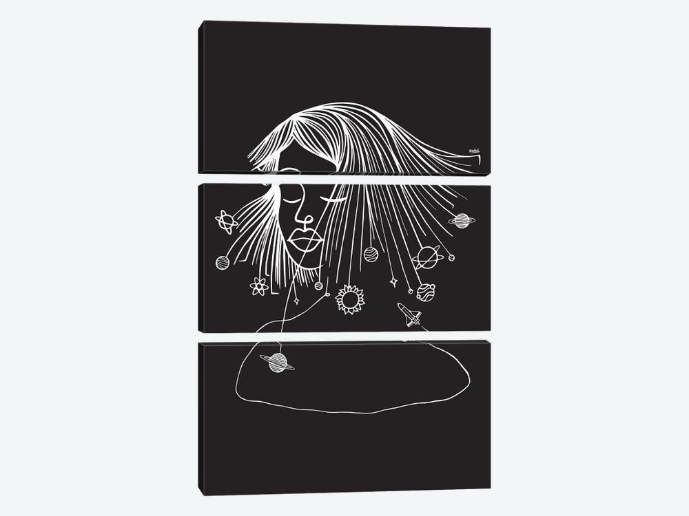 Headspace by Ninhol 3-piece Canvas Artwork