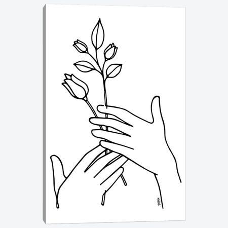 Hold On Canvas Print #NIN114} by Ninhol Canvas Artwork