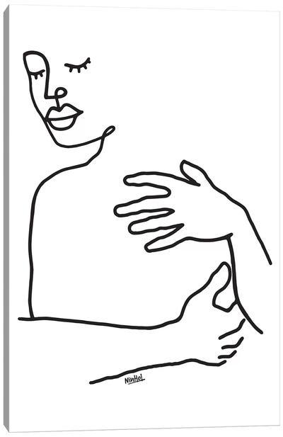 Hug Canvas Art Print