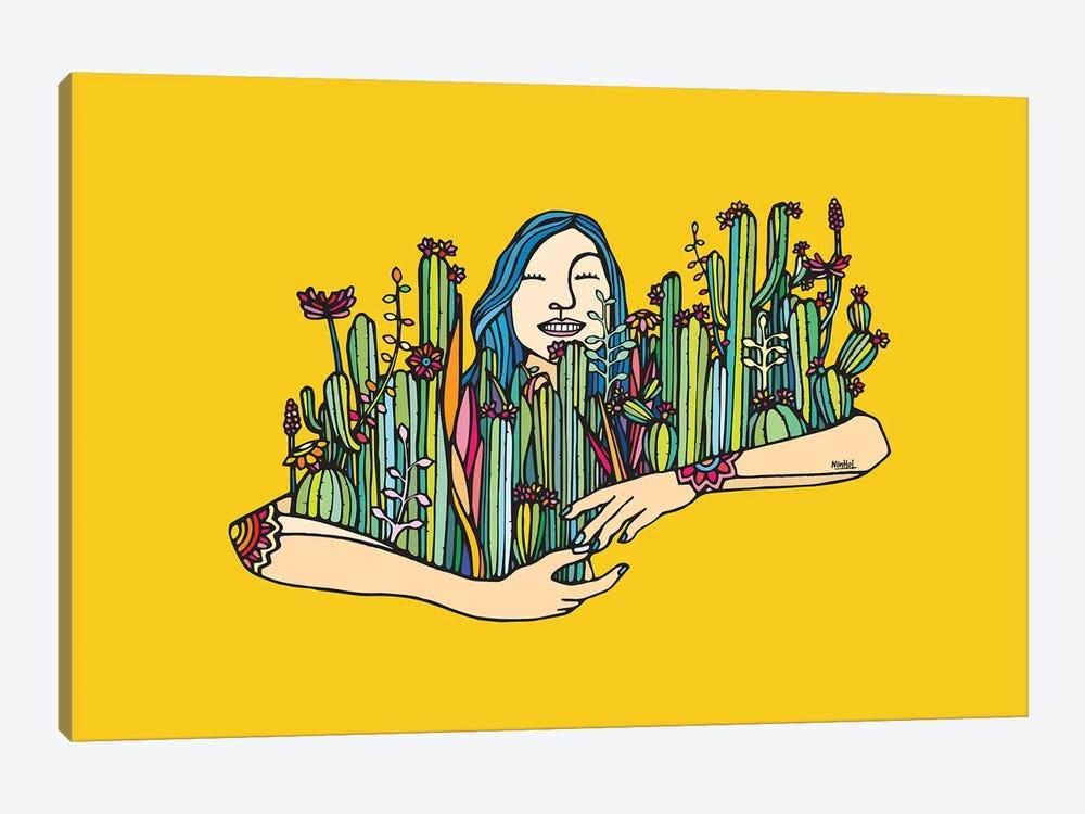 Hug A Xique Xique by Ninhol 1-piece Art Print