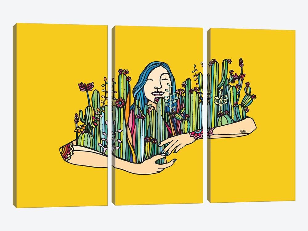 Hug A Xique Xique by Ninhol 3-piece Art Print
