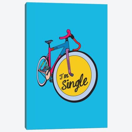 I'm Single Canvas Print #NIN118} by Ninhol Canvas Art Print